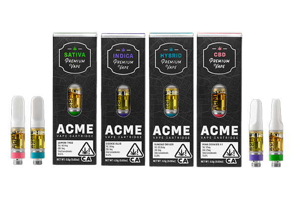ACME PREMIUM VAPE CARTRIDGES